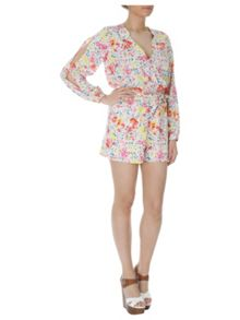 Jane Norman Floral print playsuit