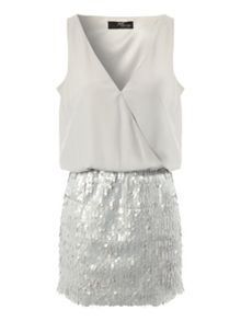 Jane Norman Sequin Skirt Dress