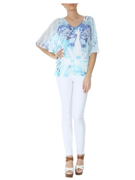 Jane Norman Angel Sleeve Top
