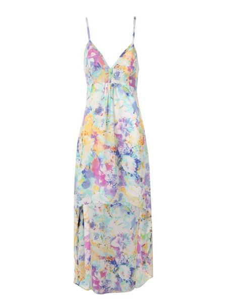 Jane Norman Floral High-Low hem dress