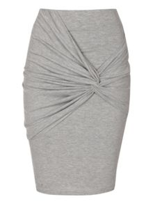 Knot detail skirt