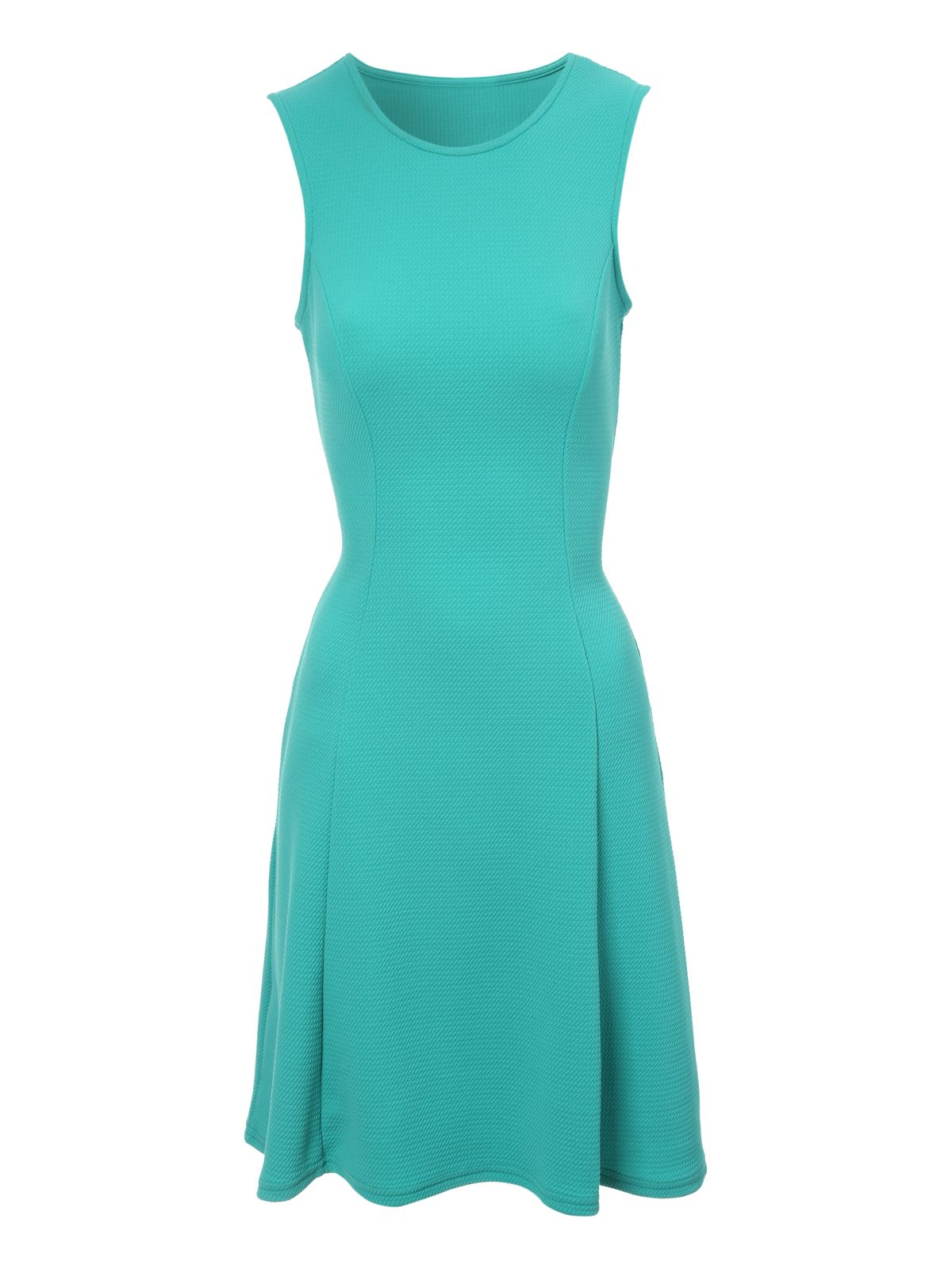 Jane Norman Fit And Flare Dress, Green