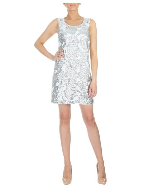 Jane Norman All Over Sequin dress