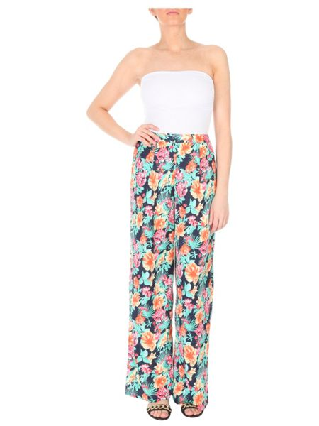 Jane Norman Floral Palazzo Pants