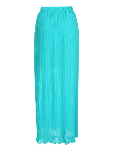 Jane Norman Pleated Maxi Skirt