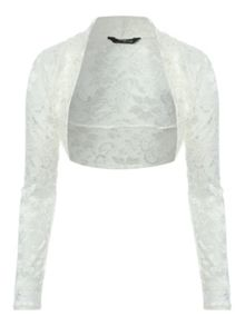 All Over Lace Shrug