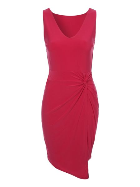 Jane Norman Asymmetric Twist Dress