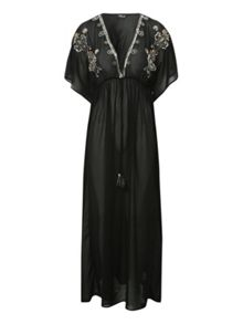 Long Embellished Kaftan