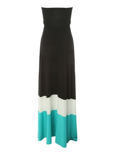 Jane Norman Colour Block Maxi Dress