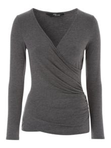 Long Sleeve Essential Wrap Jersey