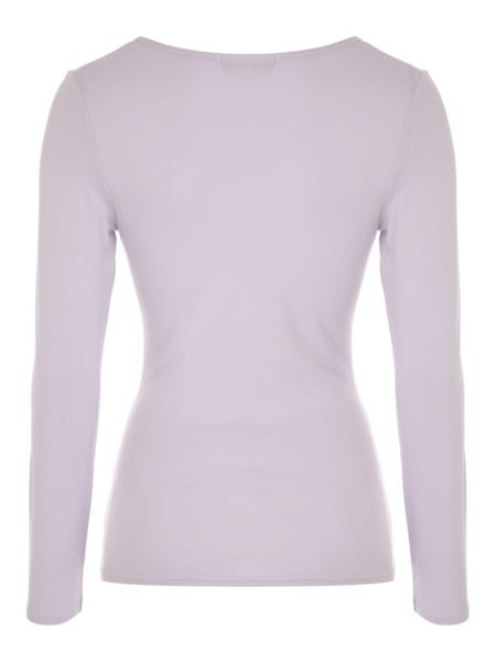 Jane Norman Long Sleeve Essential Wrap Jersey