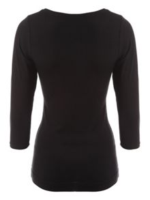 Jane Norman 3/4 Sleeve Bust Top