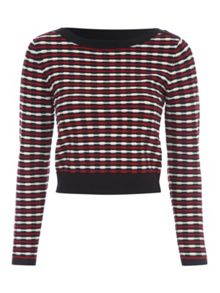Jane Norman Multicolour Stripe Knit Jumper Co-ord