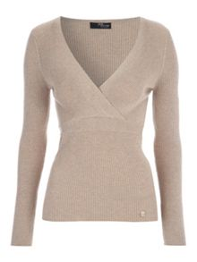 Jane Norman Crossover Wrap Jumper