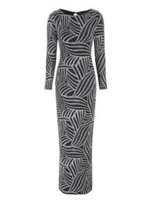 Jane Norman Lurex Maxi Dress