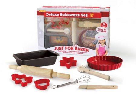 Just for Chef Deluxe 9pc Bakeware Set