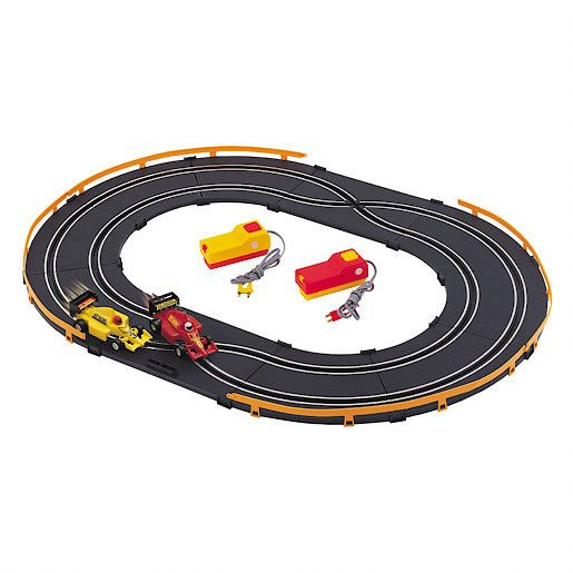 Two lane road track set