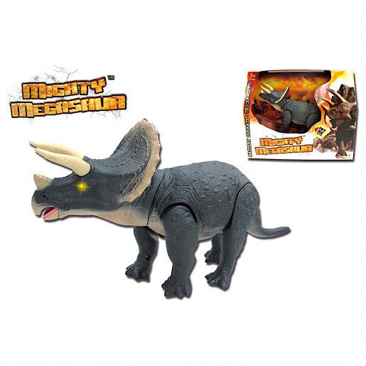 Walking triceratops