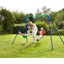 Sports Power Double Swing Set