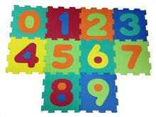 Bon Bon Foam Mat Number Set