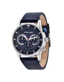 Police Gents Driver strap watch