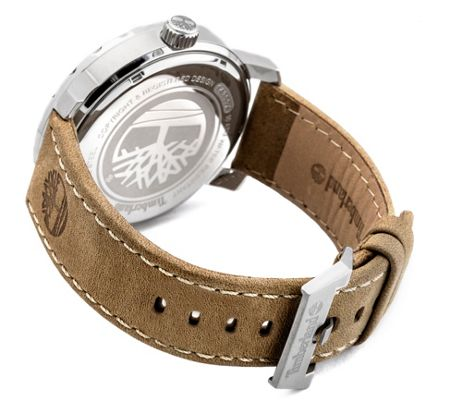 Timberland Gents Pinkerton tan  strap watch