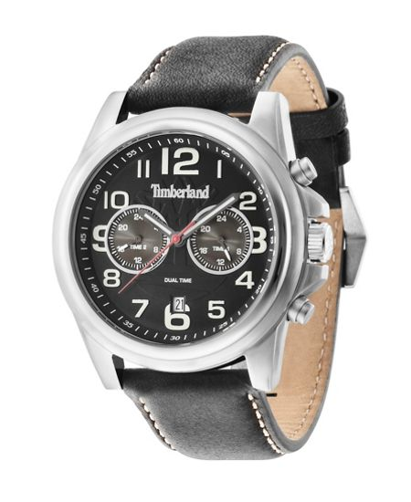 Timberland Gents Pickett black  strap watch