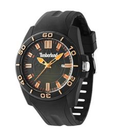 Timberland Gents Dunbarton black strap watch