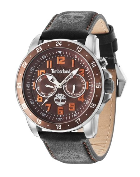 Timberland Gents Bellamy black  strap watch