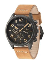 Timberland Gents Barlett tan  strap watch