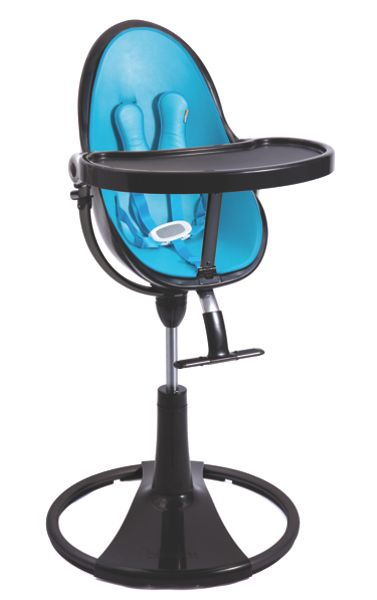 Bloom Fresco Chrome Bermuda Blue High Chair