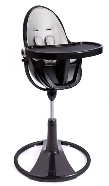 Bloom Fresco Chrome Lunar Silver High Chair