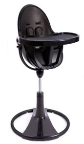 Bloom Fresco Chrome Midnight Black High Chair