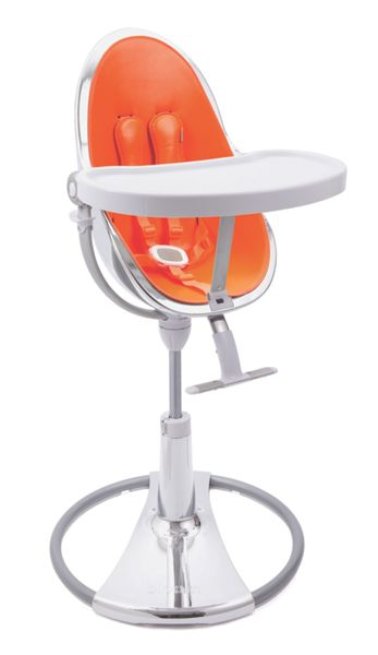 Bloom Fresco Chrome Harvest Orange High Chair