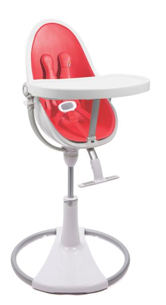 Bloom Fresco Chrome Rock Red High Chair