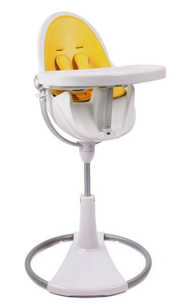 Bloom Fresco Chrome Canary Yellow High Chair