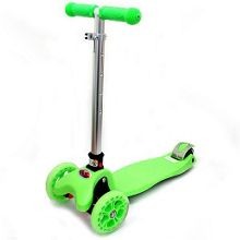 Tri Fold Scooter - Green