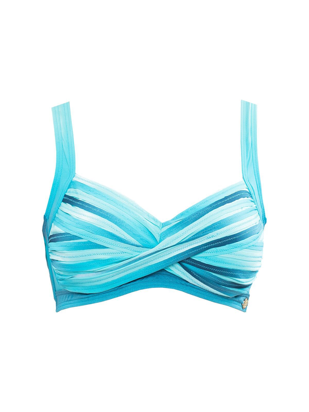 SUNSEEKER Ombre cup sized bikini top, Multi-Coloured