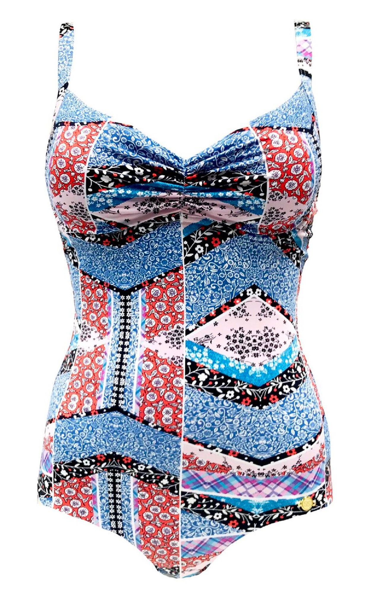SUNSEEKER Decodaze Classic Cupsized Swimsuit, Multi-Coloured