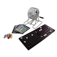 Classic bingo game set