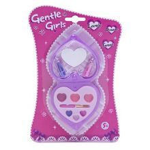 Gentle Girls Heart Shape Make Up Set
