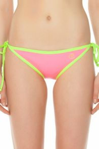 GlideSoul Neoprene tie side bikini bottom