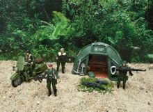 O2 Concept Stealth Force Soldier in Action Set