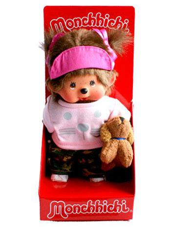 Monchhichi 20cm Doggy Trainer Girl 23240