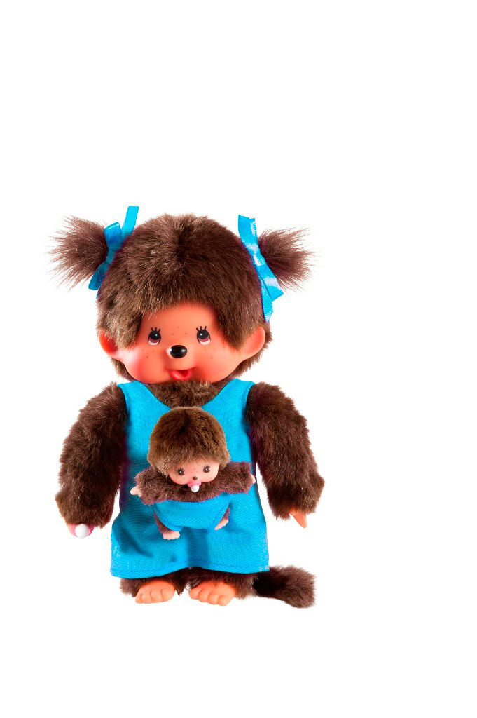 Monchhichi Mother Care doll Blue 236190