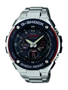 Casio GST-W100D-1A4ER mens bracelet watch