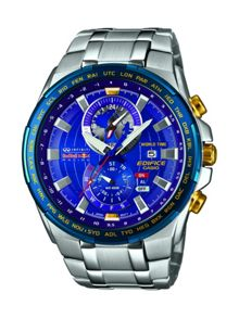 Casio EFR-550RB-2AER mens bracelet watch