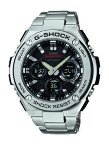 Casio GST-W110D-1AER mens bracelet watch