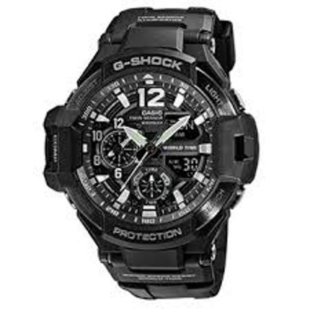 G-Shock GA-1100-1AER Mens Strap Watch