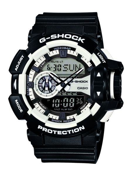 G-Shock GA-400-1AER Mens Black Strap Watch
